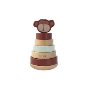 Trixie Dřevěné navlékací kroužky Mr. Monkey