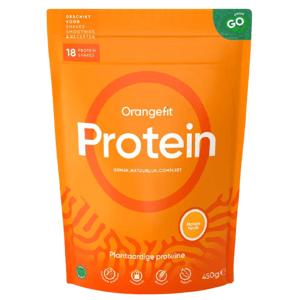 Orangefit Protein 450g mango-broskev