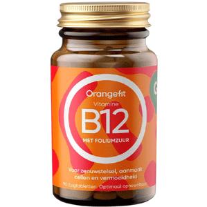 Orangefit Vitamin B12 s kyselinou listovou 90 pastilek