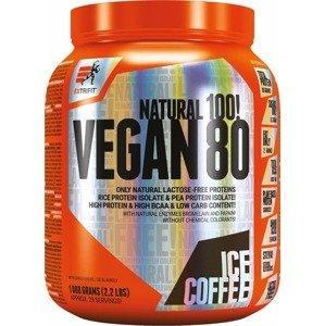 Extrifit Vegan 80 ledová káva 1000g
