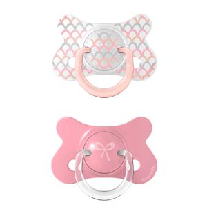 Suavinex Fusion Forest dudlík fyziologický silikon růžová 4-18m 2ks
