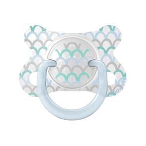 Suavinex Fusion Forest dudlík fyziologický silikon scale modrý 2-4m