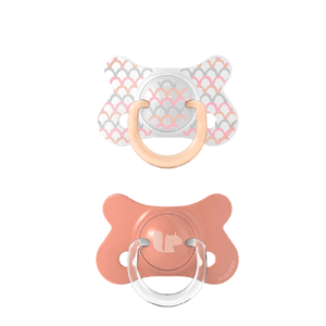 Suavinex Fusion Memories fyziiologický silikon růžový +18m 2ks