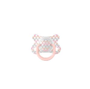 Suavinex Šidítko Fusion anatomické silikon růžová 2-4m