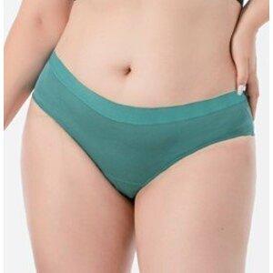 Pinke Welle Menstruační kalhotky Bikiny azurové, střední a slabá menstruace, velikost XL