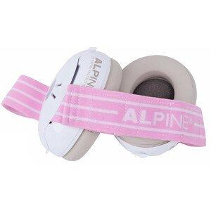 ALPINE hearing protection  Alpine Izolační sluchátka Muffy Baby růžová
