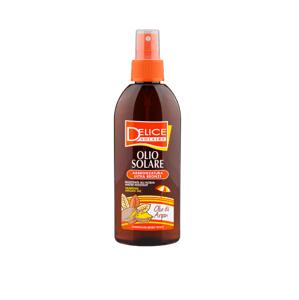 Delice Solaire Olej na opalování s arganovým olejem 150ml