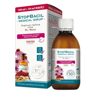 Stopbacil Medical sirup Dr. Weiss 100+50ml