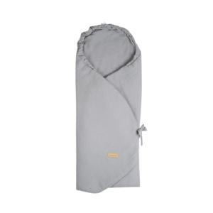Beztroska zavinovací deka do autosedačky mušelín Grey