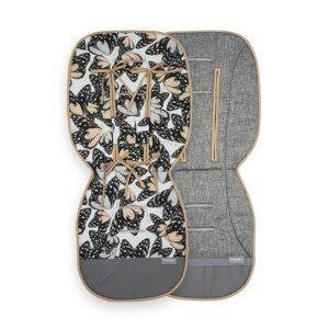 Beztroska podložka kočárku bavlna Butterflies