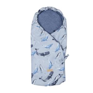 Beztroska zavinovací deka do autosedačky Whales