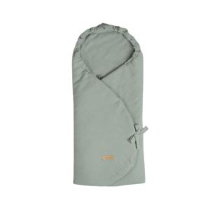 Beztroska zavinovací deka do autosedačky mušelín Mint