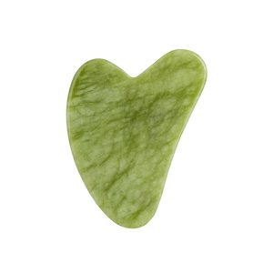 Palsar7 Masážní destička Guasha (zelený xiuyan jadeit)