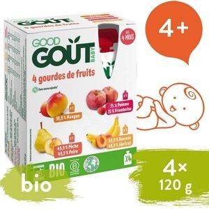 Good Gout BIO variace kapsiček Moje oblíbené ovoce 4x120g