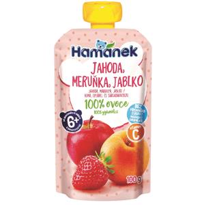 Hamánek Kapsička Jahoda, meruňka, jablko 100g