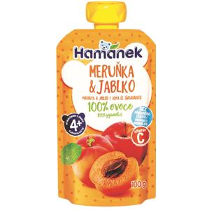 Hamánek Kapsička Meruňka a jablko 100g
