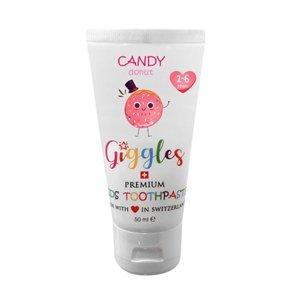 Giggles Dětská zubní pasta Candy Donut 1-6 let 50ml