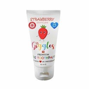 Giggles Dětská zubní pasta Strawberry 1-6 let 50ml