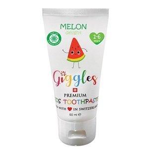 Giggles Dětská zubní pasta Melon Delight 1-6 let 50ml