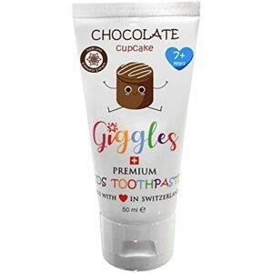 Giggles Dětská zubní pasta Chocolate Cupcake od 7 let 50ml