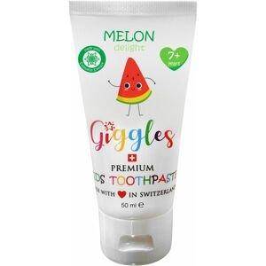 Giggles Dětská zubní pasta Melon Delight od 7 let 50ml