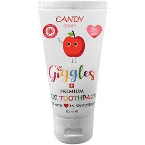 Giggles Dětská zubní pasta Candy Apple od 7 let 50ml
