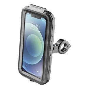 """Interphone Univerzální voděodolné pouzdro na mobilní telefony Armor, úchyt na řídítka, max. 5,8"""", černé"""