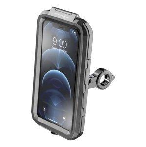 """Interphone Univerzální voděodolné pouzdro na mobilní telefony Armor Pro, úchyt na řídítka, max. 6,5"""", černé"""