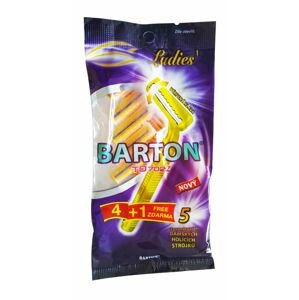 BARTON dámská jednorázová 2břitá holítka 4+1ks