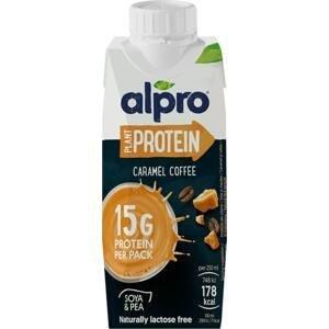 Alpro High Protein sójový nápoj s příchutí karamelu a kávy 250ml