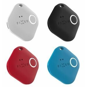 FIXED Smart tracker Smile PRO 4-Pack černý, bílý, modrý, červený