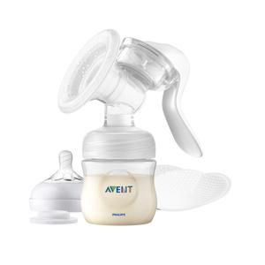 Philips AVENT Odsávačka mateřského mléka manuální se zásobníkem
