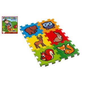 Teddies Pěnové puzzle Moje první lesní zvířátka 6ks