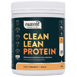 Ecce Vita Clean Lean Protein chai, kurkuma a maka 500g