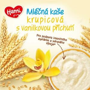 Hami kaše ml.krupicová s vanilkovou příchutí 225g