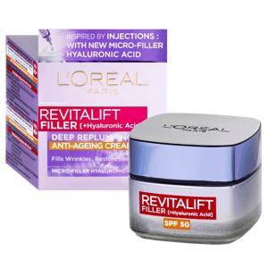 L'Oréal Paris Revitalift Filler Denní krém proti stárnutí SPF 50 50ml