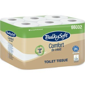 Bulky Soft Jemný 2vrstvý toaletní papír 12 rolí