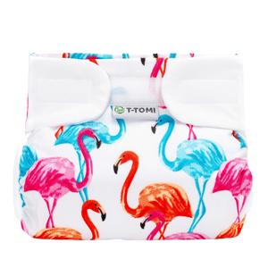 T-Tomi Ortopedické abdukční kalhotky - suchý zip, flamingo 3-6kg