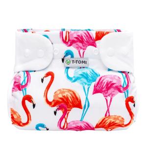 T-Tomi Ortopedické abdukční kalhotky - patentky, flamingo 5-9kg