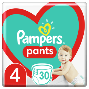 Pampers Plenkové kalhotky Pants velikost 4 30ks