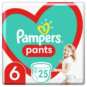 Pampers Plenkové Kalhotky Pants velikost 6 25ks