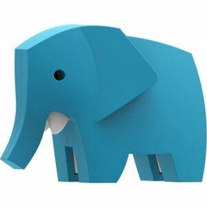 Halftoys SLON magnetická skládací hračka s 3D modelem savany