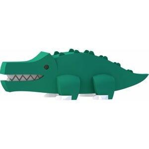 Halftoys KROKODÝL magnetická skládací hračka s 3D modelem savany