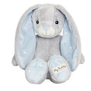 My Teddy Plyšový zajíček - modrý