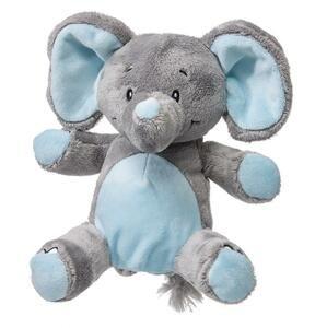 My Teddy Můj první slon plyšák - modrý