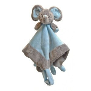 My Teddy Můj první slon muchláček - modrý