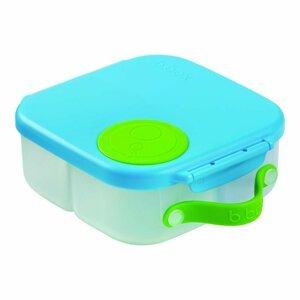 B.box Svačinový box střední - modrý/zelený