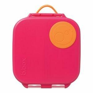 B.box Svačinový box střední - růžový/oranžový