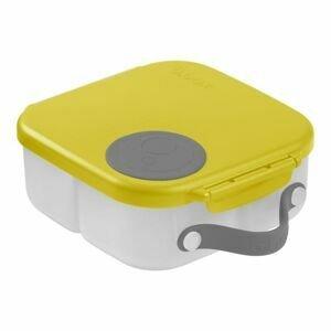 B.box Svačinový box střední - žlutý/šedý