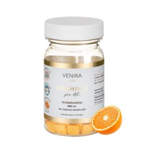 Venira kids Vitamin D pro děti ve formě kostiček 120 tablet